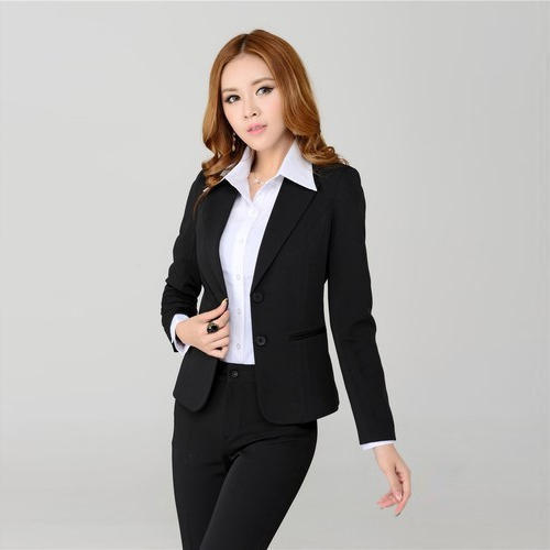 Ladies Black Formal Blazer 3d9161e283