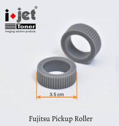 Laser Scanning Grey Fujitsu Pickup Roller (Medium)