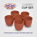 Earthen Cherry Cup Set