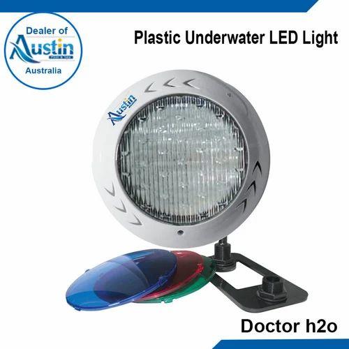Stainless steel underwater light plastic underwater led - Swimming pool light bulbs halogen ...