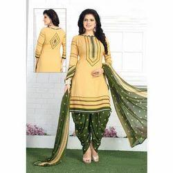 Cotton Festive Wear Ladies Stylish Suit