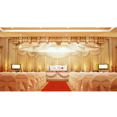 Wedding Stage Background Decoration Service