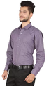 Stylo Purple Cotton Formal Shirt