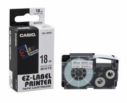 Casio XR-18WE1 Label Printer Tape