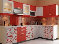 modular kitchen - Stainless Steel Modular Kitchen