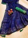 Zari Fancy Saree With Blouse Piece