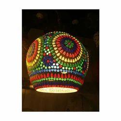 Aluminium Industrial Globe Hanging Lamp