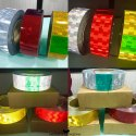 Retro Reflective Tape Roll China Retro Radium Tape