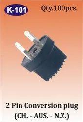 K-101 2 Pin Conversion Plug
