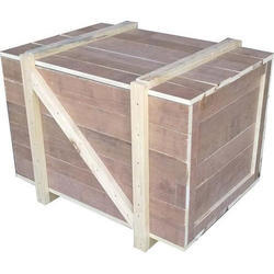 Waterproof Solid Wood Heavy Duty Wooden Packaging Box, for Office, Box Capacity: 601-800 Kg