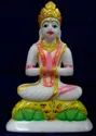 White Marble Shivling Statue