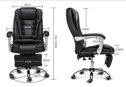 Elecktra Leather Director Boss With High Back Swivel