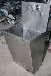 Scrub Sink 1 Way Manual
