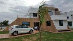 Residential Ground + First Floor Villas, in Vadodara, Area Of Construction: 2200 Sba