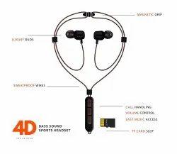 Magnet 4D Bass Magnetic Series Wireless Bluetooth Earphones H28