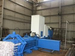HYDRAULIC PAPER COMPACTOR