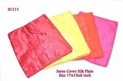 Saree Cover Silk Plain