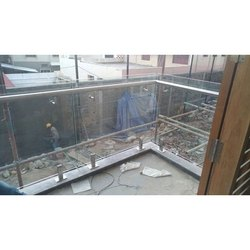 SS Tempered Glass Railing