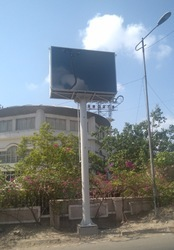 LED Screen Gantry Sign
