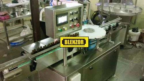 Automatic Servo Driven Pick And Place Screw Capping Machinery