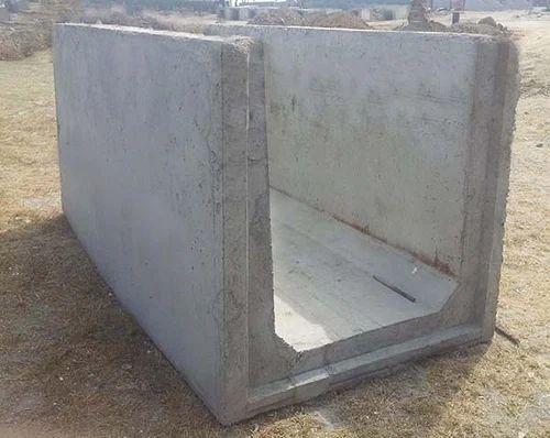 Concrete RCC Precast U Drain