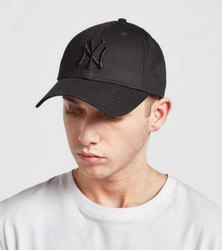 NY Black Baseball Caps