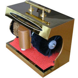 Auto Shoe Shining Machine Golden