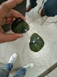 Aviator Golden Rayban Sunglasses