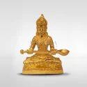 Gold Plated Annapoorani Idol