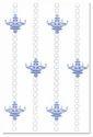 1067 Luster White Print Wall Tiles