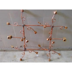 Commercial Copper Gas Manifold System
