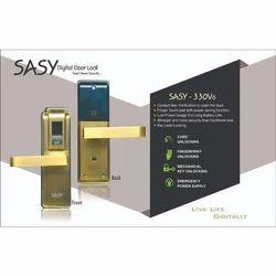 Sasy Brass 330V6 Electronic Door Lock