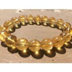 Natural Citrine Gemstone Bracelet