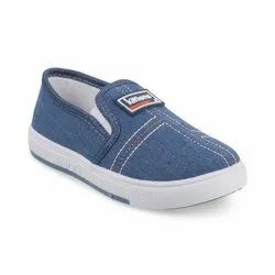 KTB566L Blue Kids Slip On Shoes