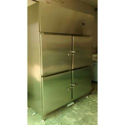 Stainless Steel Four Door Vertical Refrigerator