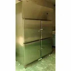 Stainless Steel Four Door Freezer