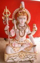 Marble Shiva