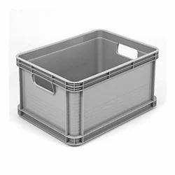 Industrial Plastic Storage Crates