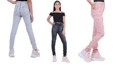 Skinny Zipper Girls Jeans