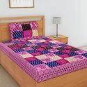 Elegant Print Single Bed Sheet Cotton