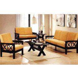 Genial Teak Wood Sofa Set