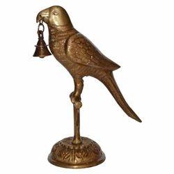 Brass Bird Stand