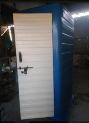 Blue Eco Toilet Block