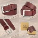 Men Casual Leather Belt