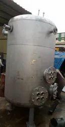 Mild Steel Heating Vertical Storage Tank
