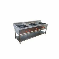Stainless Steel Three Burner Stove