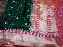 Fancy Indian Silk Saree