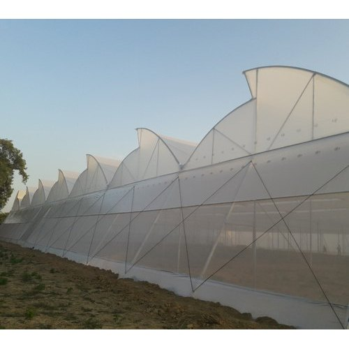 PVC Naturally Ventilated Polyhouse, For Agriculture Farming