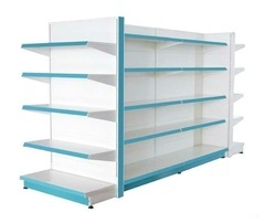 Free Standing Storage Display Rack