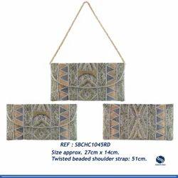 Beaded Clutch Bag